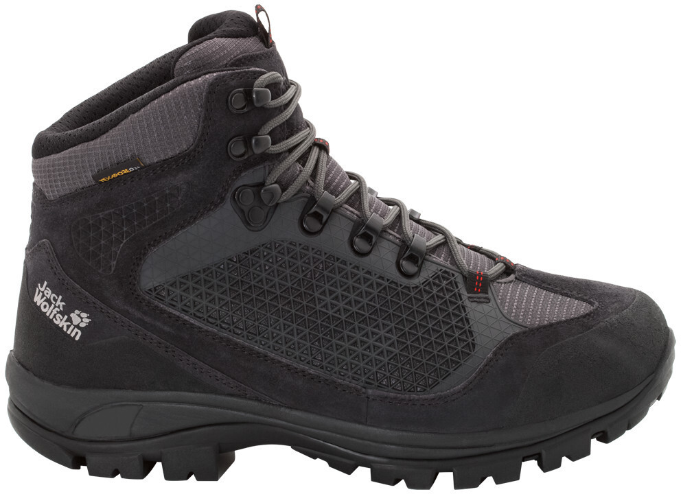 Jack Wolfskin All Terrain Pro Texapore Mid Cut Schuhe Herren dark steel